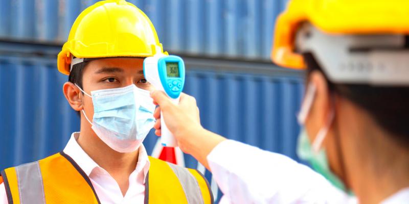 comment respecter les mesures sanitaires sur un chantier